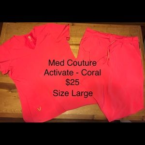 Med Couture Activate scrubs